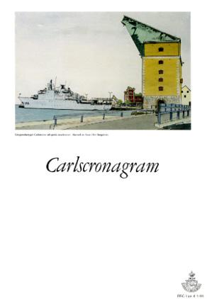 HMS Carlscrona och Gamla Mastkranen